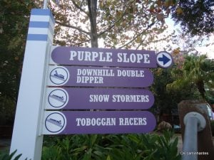 Purple Slope Attractions