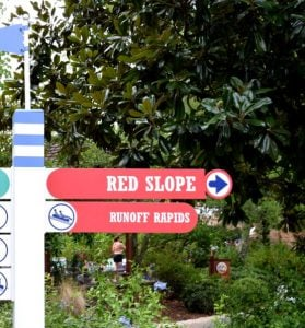 Red Slope Attraction