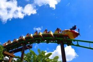 Air Grover Roller Coaster at Sesame Street Safari of Fun
