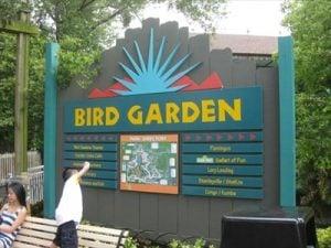 Bird Gardens Region at Busch Gardens Tampa Bay
