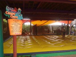 Cookie Monster's Canopy Crawl at Sesame Street Safari of Fun