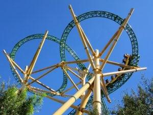 Cheetah Hunt Roller Coaster at Egypt Region