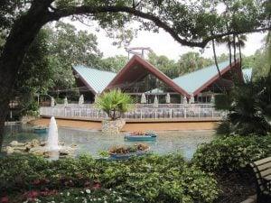 Garden Gate Cafe Dining at Bird Gardens Region at Busch Gardens Tampa Bay