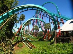 Kumba Roller Coaster at Congo Region