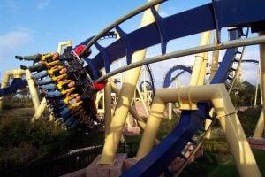 Montu Roller Coaster at Egypt Region