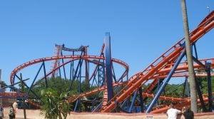 Scorpion Roller Coaster at Pantopia