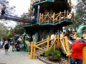 Elmo's Treehouse Trek at Sesame Street Safari of Fun