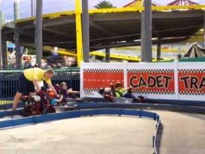 Cadet Track at Fun Spot America Orlando
