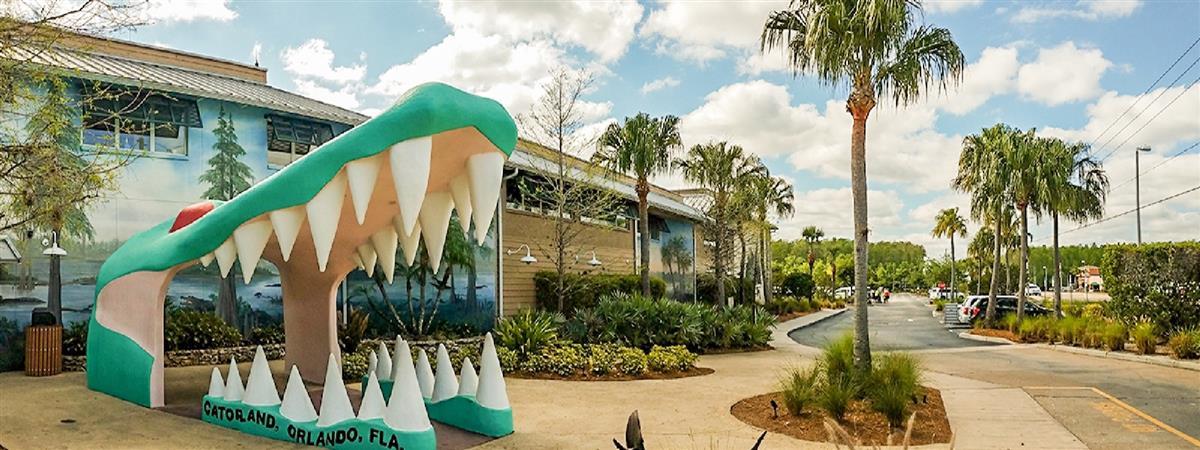 Gatorland Orlando in Florida