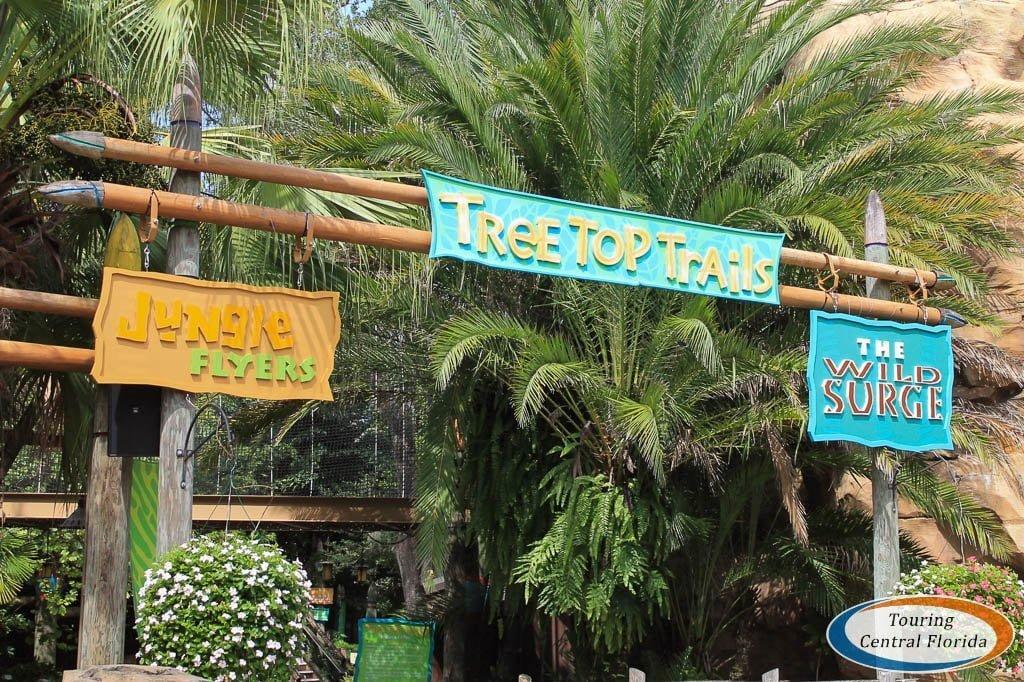 Jungala Region at Busch Gardens Tampa Bay