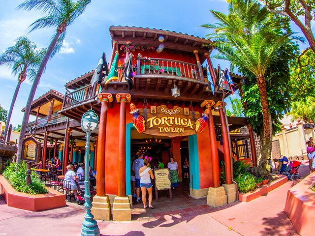 Tortuga Tavern Dining Adventureland at Disney's Magic Kingdom