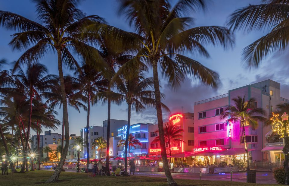 Beautiful Miami Beach Florida