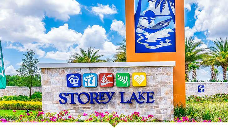 Storey Lake Orlando in Florida