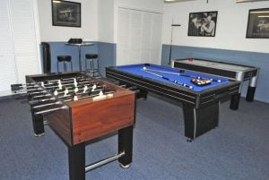 East View at Solana Resort Games Room