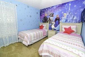 East View Solana Resort Frozen Themed Bedroom