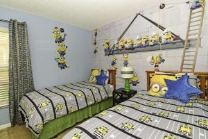 East View Solana Resort Minions Themed Bedroom