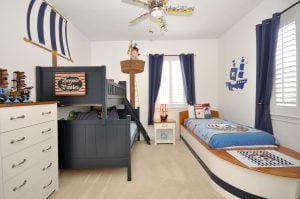 The House at Reunion Themed Bedroom