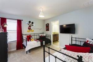Luxury Retreat Themed Bedroom