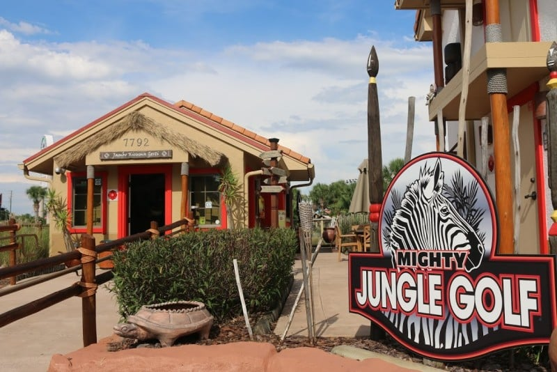 Mighty Jungle Golf, kissimmee in Orlando, Florida