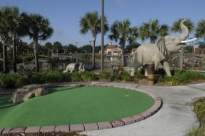 Plains of Serengeti Course at Mighty Jungle Golf