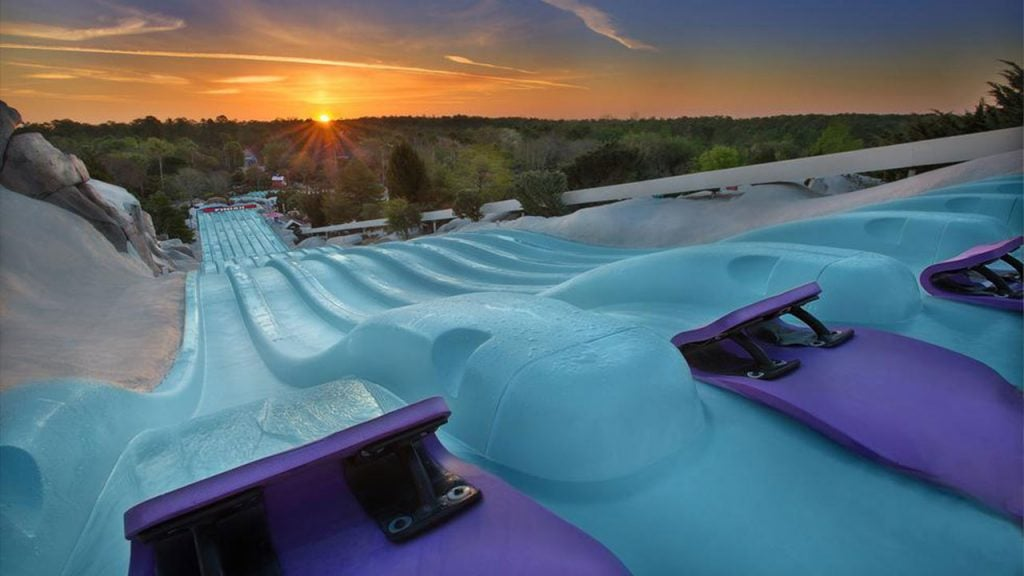 Purple Slope Attractions at Disney's Blizzard Beach