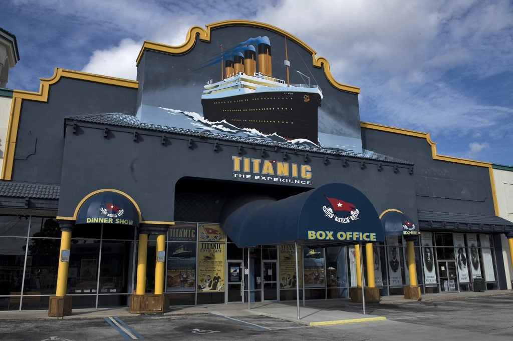 Titanic: The Artifact Exhibition in Orlando, Florida.