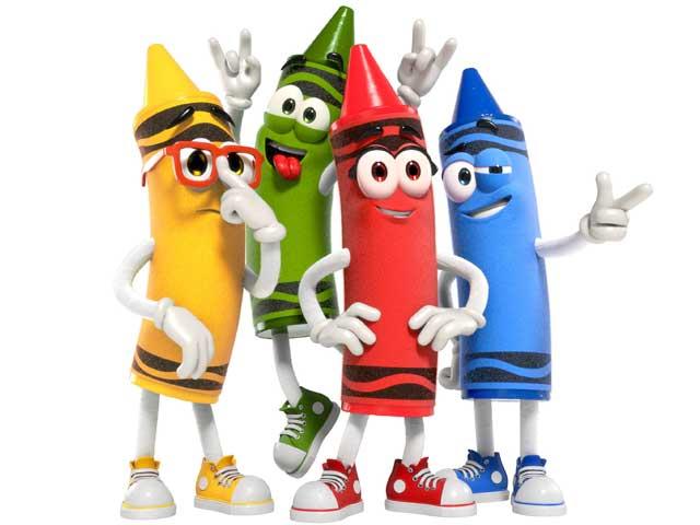 Characters Meet n Greets at Crayola Experience